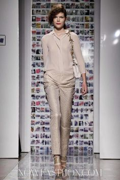 Aigner Ready To Wear Spring Summer 2013 Milan
