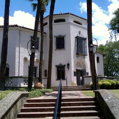McNay Art Museum...Located in a Spanish Colonial Revival house (the former home of art collector Marion McNay), the McNay Art Museum opened its doors as the first modern art museum in San Antonio in 1954. The house (now with several modern additions) and the surrounding grounds themselves make for a beautiful visit...