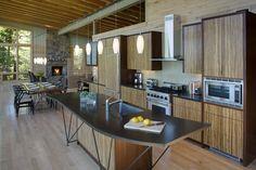 cabin kitchen design - Google Search