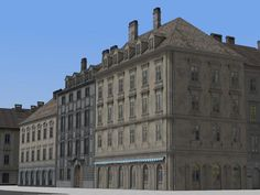3 #Wiener #Stadthäuser im Set - Set 2. Ab #EEP8 http://j.mp/3-Wiener-Stadthäuser-Set2