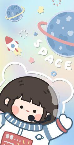 Cute Pastel Wallpaper, Soft Wallpaper, Drawing Wallpaper, Cute Patterns Wallpaper, Bear Wallpaper, Graphic Wallpaper, Kawaii Wallpaper, Galaxy Wallpaper, Cartoon Wallpaper Iphone