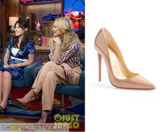 Watch What Happens Live: October 2015 Kate's Nude Pumps