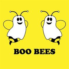 What do bees go as for Halloween? Oh wait, Boo Bees! Haha Funny, Funny Memes, Funny Stuff, Funny Things, Funny Shit, Random Stuff, Funny Quotes, Random Things, Bee Quotes
