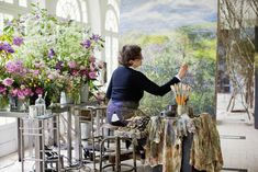 Claire Basler (Blumenmalerin/Flower Painter)
