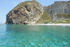Palmarola beach - Ponza, Italy Ponza is an island destination mostly frequented by Italians (especially Romans and Neapolitans, as it's just a hop, skip, and a jump away by boat) that is largely undiscovered by foreign tourists.