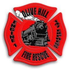 Olive Hill Fire Rescue Engine 1 #fire #train #patch