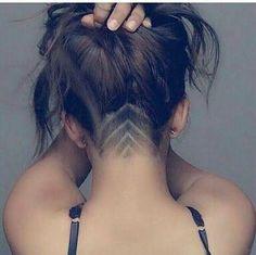 #corte #cabelo #hair #raspado #feminino