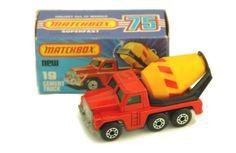 Cement Truck - Matchbox 1976 - Series Nr. 19