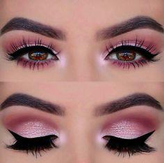 Perfect pink eye makeup !! ❤❤❤