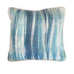 Edie Shibori Pillow : Blue – Sara Kate Studios