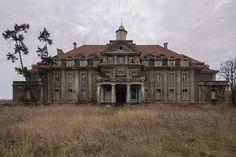 ☕ — fuckyeahabandonedplaces: Schule d. H. J. (HDR)...