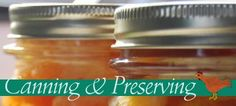 This website contains great recipes for canning as well as frugal living and homesteading tips.