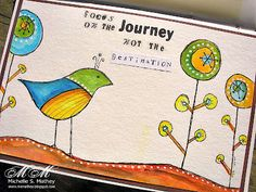 Water color in the car!  Cool art journal.