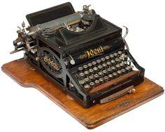 Ideal typewriter - 1900, www.antiquetypewriters.com