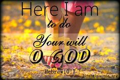 Jireh Missions: To do your will...