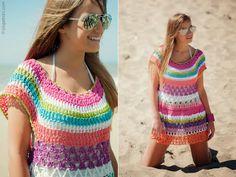Innovart en crochet. Colores de Playa