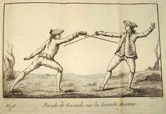 From Danet, the parry of second on the trust of second