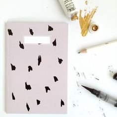 Dalmatian Patterned Notebook