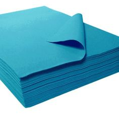 "9"" X 12"" 1233 Acrylic Felt Sheets - 25 Pcs, Turquoise, 2015 Amazon Top Rated Fabrics, Fibers & Textiles #BISS"