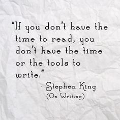 Quote of the Week: Stephen King