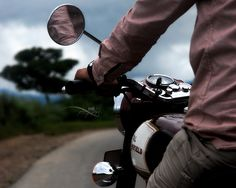 Royal Enfield: The feel of raw power combined with the intense torque and packed with a thumping punch. - Intr, India
