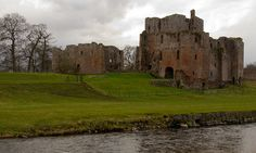 Brougham Castle.  A River Castle by Paul 'Tuna' Turner, via Flickr
