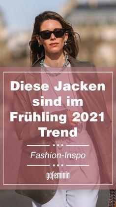 Frühlingsjacken-Trends 2021: Das sind die 5 angesagtesten Übergangsjacken Biker Look, Trend Fashion, Movies, Movie Posters, Style, Hot Pink Fashion, New Fashion Trends, Styling Tips, Summer
