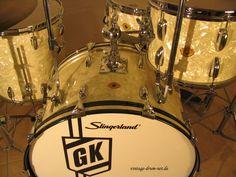 Vintage-Drum-Net Slingerland 1998 Legends Gene Krupa Signature Drum Set