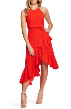New CeCe Cascading Ruffle Halter Neck Dress online shopping - Protophits Casual Summer Outfits For Women, Trendy Summer Outfits, Ruffle Dress, Dress Skirt, Wrap Dress, Cruise Attire, Halter Neck, Nordstrom Dresses, Dresses Online