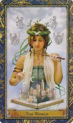 five of staves the goddess tarot Kris Waldherr - Google Search