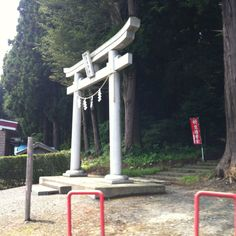 Torii gate Misawa, Japan (home) Kihi shrine