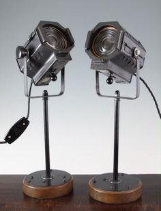 Vintage mini spotlights