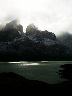Mountain. Landscape. Grey. www.tradescantandson.com