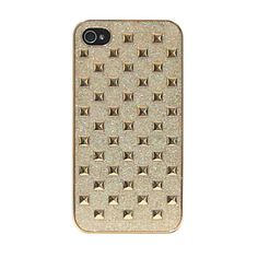 Case Spike Ouro pra iPhone 4/4S