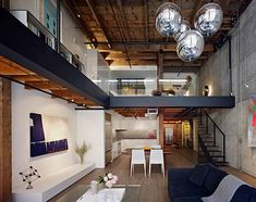 EDMONDS + LEE ARCHITECTS Warehouse in San Francisco rebuilt into Contemporary Loft