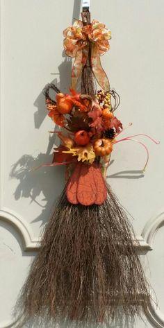 Fall cinnamon broom $20.00 froufrouandhoodoo.com