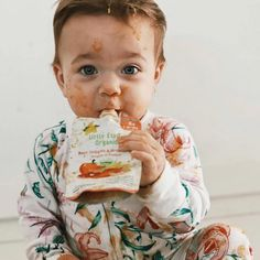 Our pouches are zero fuss + mess free (most of the time... 😜)  📸 Gorgeous Milú @franbouton Little Star, Baby Food Recipes, Pouches, Good Times, Zero, Organic, Stars, Recipes For Baby Food, Sterne