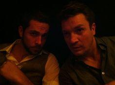 Zac Levi & Nathan Fillion. Hello awesome.