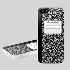 Fancy - Composition Notebook Case for iPhone 5