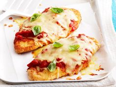 Spruce up your humble chicken schnitzel with the addition of tomato pasta sauce, melted cheese and fresh basil. This simple topping adds a world of flavour that will delight your friends and family.