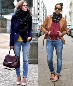 Scarves are important parts of European fashion style-1