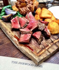 The Harwood Arms, Fulham. 1st Michelin-starred pub. 2 courses £33.50.