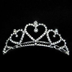 FLOW ZIG Women's Alloy Headpiece - Wedding/Special Occasion Tiaras >>> Want additional info? Click on the image. (This is an affiliate link) #BroochesandPins