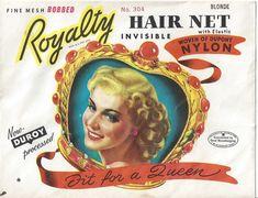 Lizenzfreie Jahrgang Nylon Haare Net 1940er von thecollectiblechest