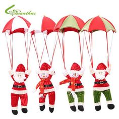 2017 Christmas Decoration Deer The Old Man The Snowman Christmas Tree Decorations for Home Ornament 1pcs/lot Free Shipping Black Friday Sale at SaveMajor.com
