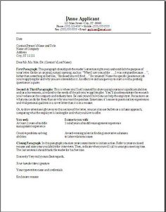 cover letter template for banking position - Google Search | job ...