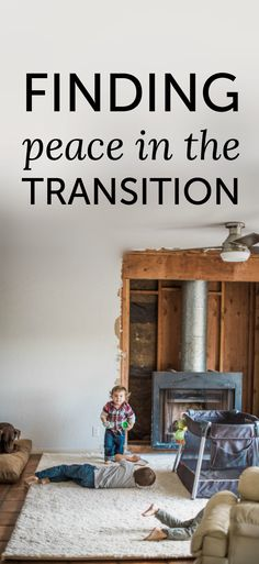 How to find peace when you're renovating a home - and living in it! We're currently renovating with three (soon to be four) little boys and it's quite a juggle. Here's one tip that's made a big difference for us. #ChangeYourRug #ad