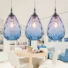 Modern+Design+Gradiente+Glass+Shade+3+Lights+Pendant+–+USD+$+299.99