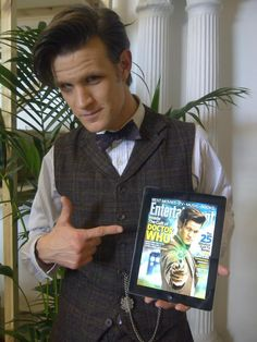The 11th Doctor. Matt Smith just has something about him that is just inspiring.