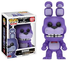 This is a Funko Five Nights At Freddy's POP Bonnie Vinyl Figure that's produced by the nice folks over at Funko. Bonnie looks awesome in his Funko POP Vinyl style. Neat for any fan of Five Nights at F Funko Pop Figures, Vinyl Figures, Action Figures, Five Nights At Freddy's, Animatronic Fnaf, Pop Toys, Freddy Fazbear, Pop Games, Pop Collection